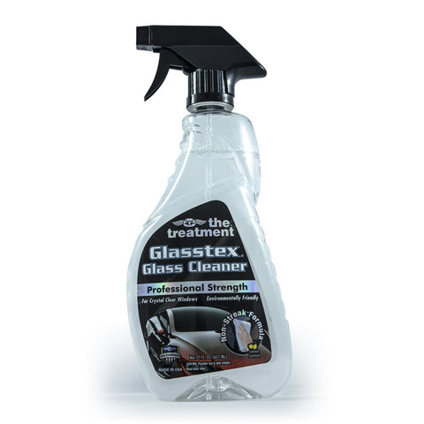 Professional strength glass cleaner made in the usa