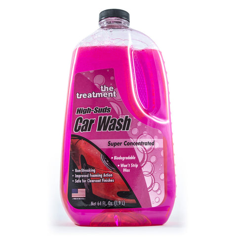 The treatment car wash supersuds No Wax shampoo