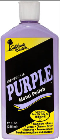 THE ORIGINAL PURPLE METAL POLISH & SEALER