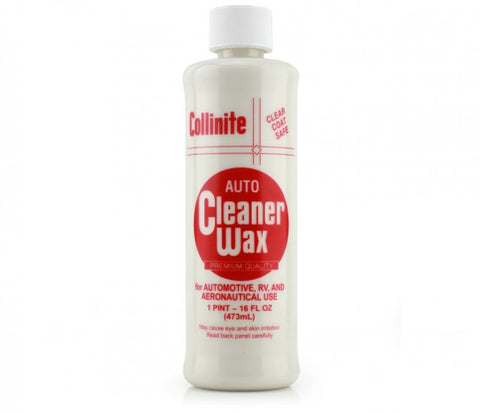 Collinite auto cleaner wax clear coat safe