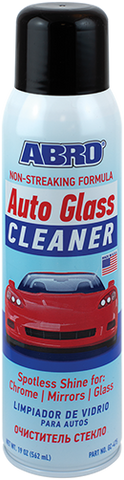 Abro glass cleaner