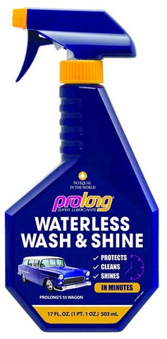PROLONG WATERLESS WASH /DETAILER DiRECT FROM CALIFORNIA