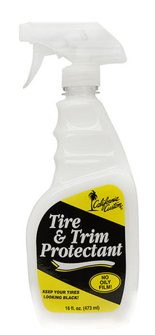 California custom trim & tire protectant