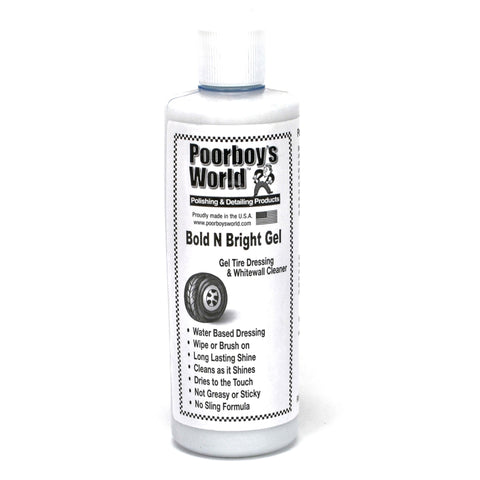 Poorboy's tyre gel bold and bright