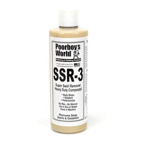 Poor boys SSR. 3 super swirl remover