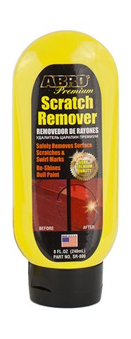 Abro scratch remover clear coat safe