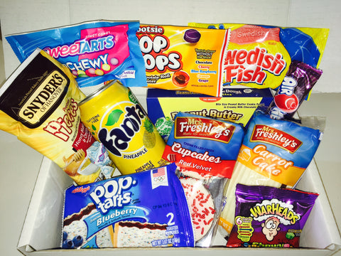 Candyclub Monthly Subscription Box A Taste Of The States