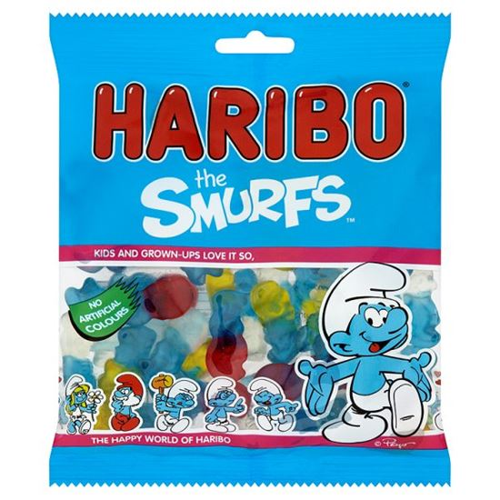 Haribo USA Smurfs (4oz) - A Taste of the States