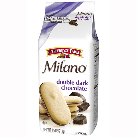 Pepperidge Farm MILANO® Double Dark Chocolate Cookies (7oz)
