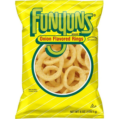 Frito-Lay Funyuns Onion Rings (6oz) - A Taste of the States