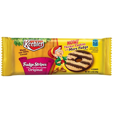 Keebler Fudge Stripes Original (1.9oz) - A Taste of the States
