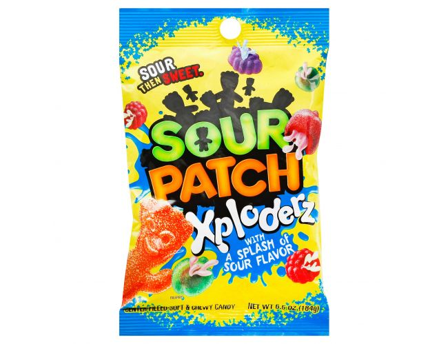 Sour Patch Xploders Peg Bag (6.5oz)