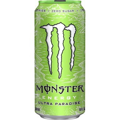 Monster Ultra Paradise 16oz (473ml) - A Taste of the States