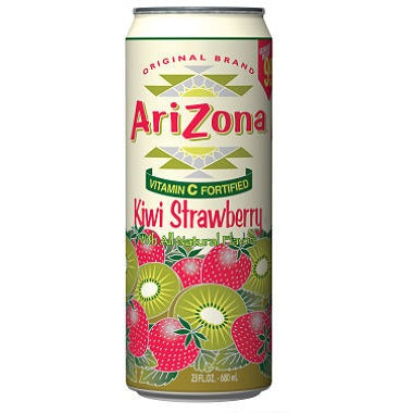 Arizona Kiwi Strawberry (23oz Big Boy can) 680ml - A Taste of the States