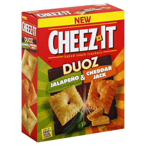 Cheez-It Duoz Jalapeño & Cheddar Jack (12.4oz Box)