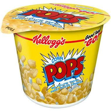 Kellogg's Corn Pops Cereal Cup (42g) - A Taste of the States