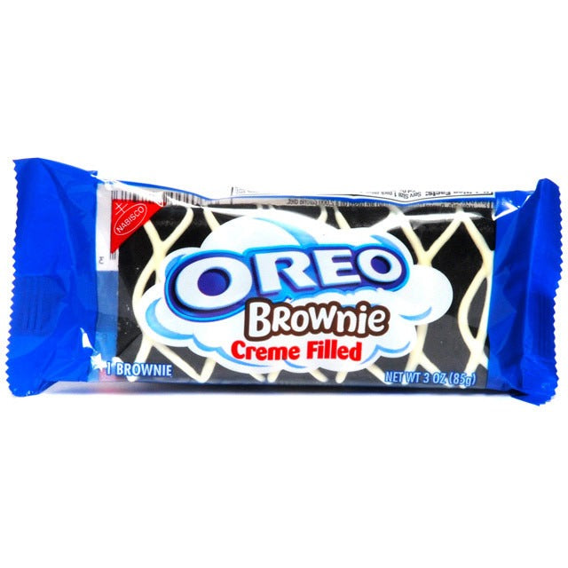 Oreo Creme Filled Brownie 3oz - A Taste of the States