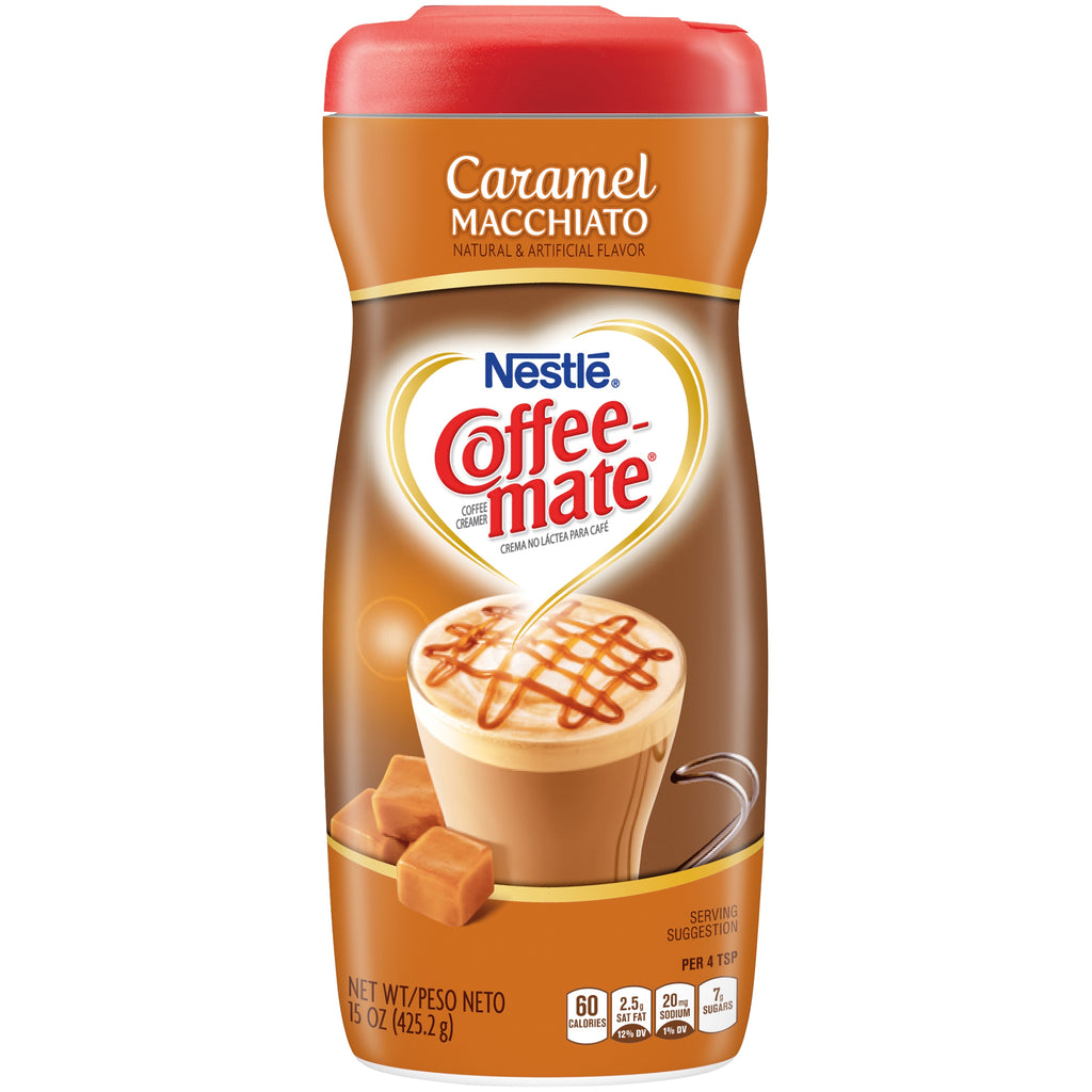 Nestle Coffee-Mate Caramel Latte (15oz tub) - A Taste of the States