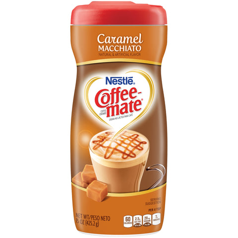 Nestle Coffee-Mate Caramel Macchiato (15oz tub) - A Taste of the States