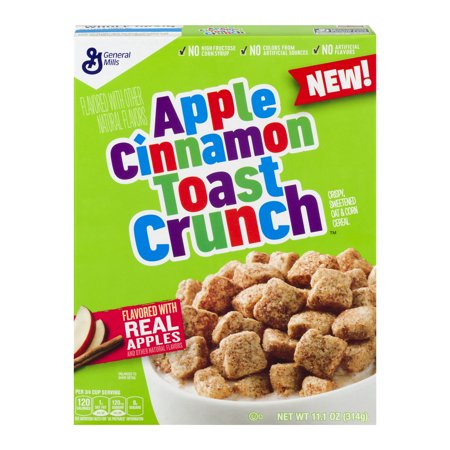 Apple Cinnamon Toast Crunch Cereal (11oz) - A Taste of the States