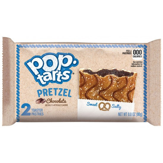 Kellogg's Pop Tarts Pretzel: Chocolate (2 pack) - A Taste of the States