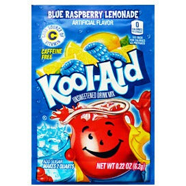 KOOL-AID Blue Raspberry Lemonade - A Taste of the States