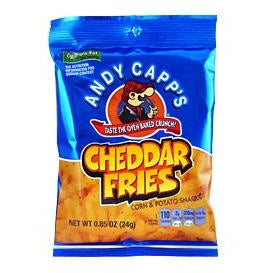 Andy Capp's Cheddar Fries (0.85oz) 24g - A Taste of the States