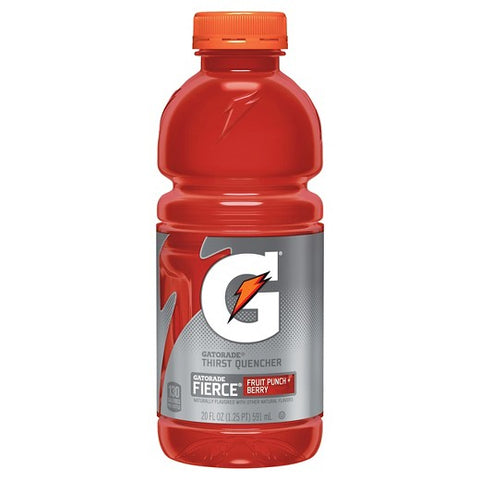 Gatorade Fruit Punch 20oz (591ml) - A Taste of the States