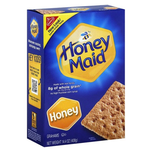Nabisco Honey Maid Grahams 14.4oz (408g) - A Taste of the States