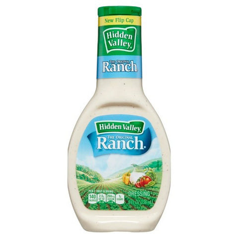 Hidden Valley Original Ranch Dressing (8oz) - A Taste of the States