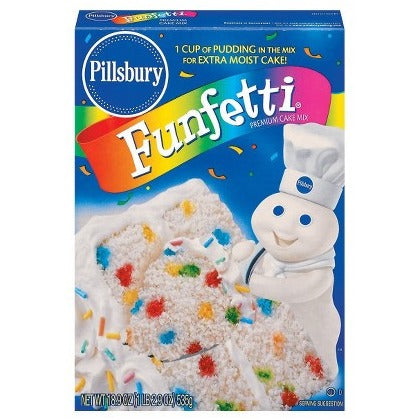 Pillsbury Funfetti Cake Mix (15.25oz) - A Taste of the States