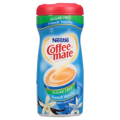 Nestle Coffee-Mate Sugar Free French Vanilla (10.2oz tub) - A Taste of the States