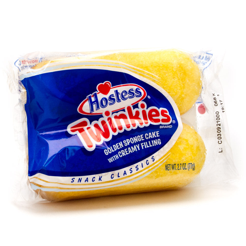 Hostess Twinkies (2 Pack) 77g - A Taste of the States