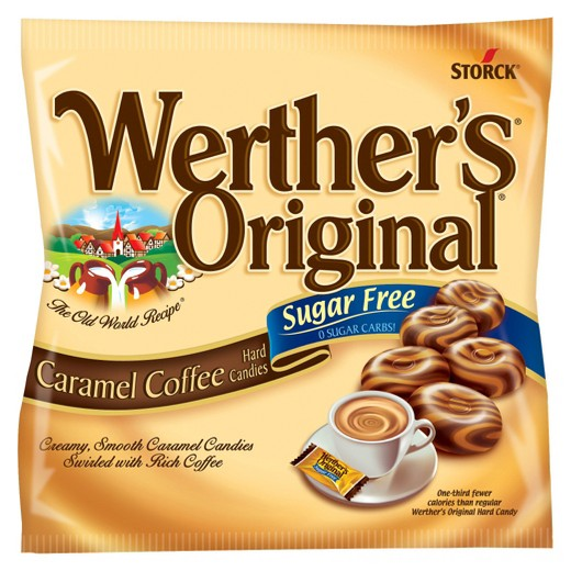 Werther's Sugar-Free Caramel Coffee Hard Candy (1.46oz) - A Taste of the States