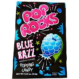 Pop Rocks Blue Razz (9.5g) - A Taste of the States