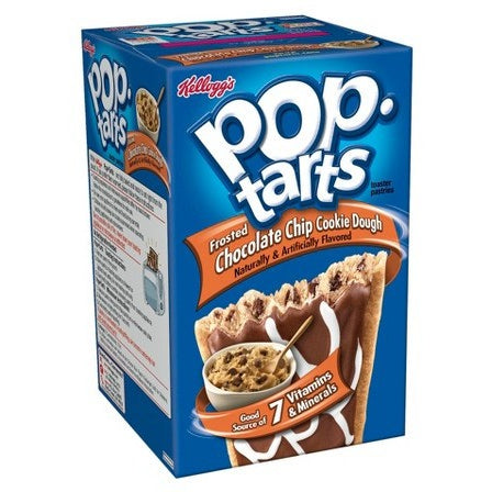 Kellogg's Pop Tarts Chocolate Chip Cookie Dough (8 pack) - A Taste of the States