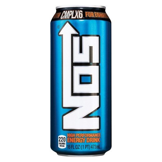 NOS High Performance Energy Drink 16oz (473ml) - A Taste of the States