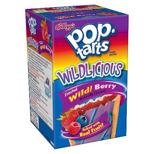 Kellogg's Pop Tarts Wildlicious® Wild Berry (8 pack) - A Taste of the States