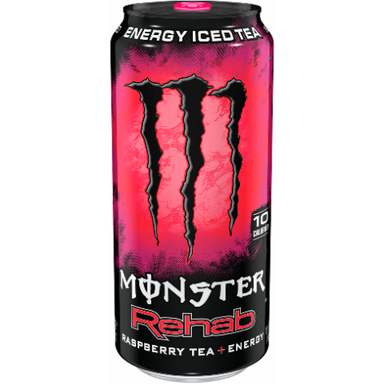 Monster Rehab Raspberry 15.5oz (440ml) - A Taste of the States
