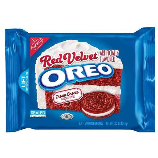 OREO Red Velvet Cookies (Limited Edition) 10.7oz - A Taste of the States