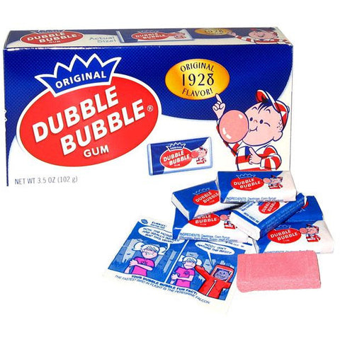 Dubble Bubble Bubble Gum Nostalgic Theater Box (3.5oz) - A Taste of the States