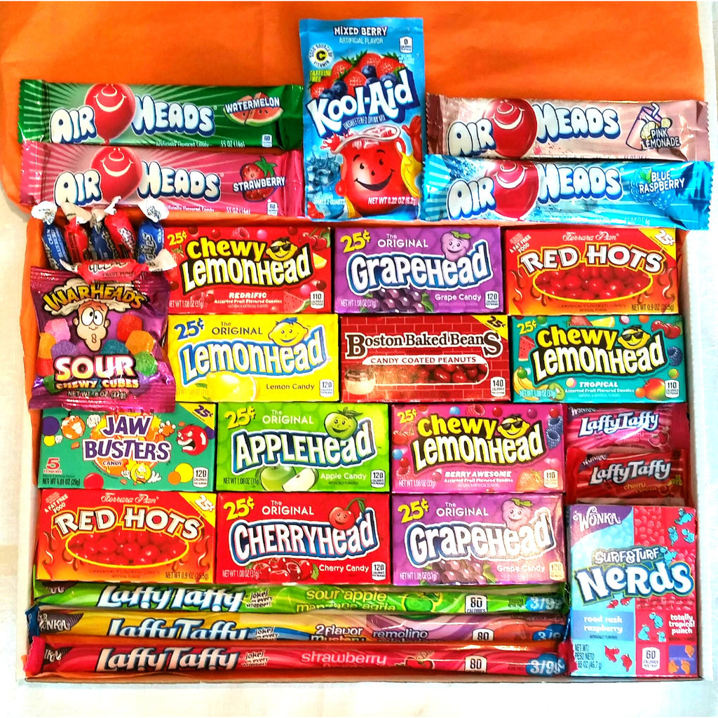 Extra Large American Candy Hamper Gift Box A Taste Of