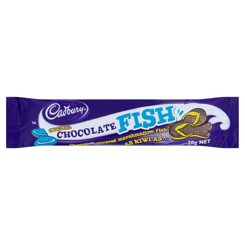 Cadbury's Chocolate Fish (20g) - A Taste of the States