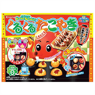 Kracie Popin' Cookin' DIY Takoyaki Balls Kit (31g) - A Taste of the States