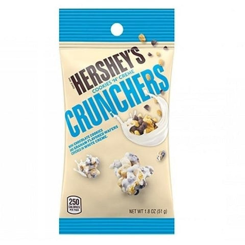 Hershey's Cookies 'n' Creme Crunchers (1.8oz) - A Taste of the States