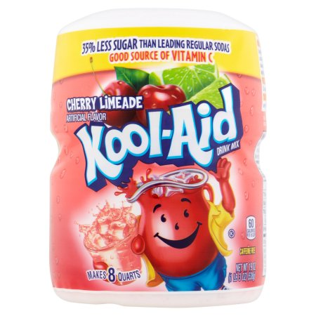 KOOL-AID Cherry Limeade Tub (19oz) 538g - A Taste of the States