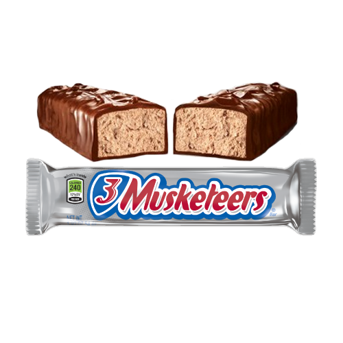 3 Musketeers Bar (1.92oz) - A Taste of the States