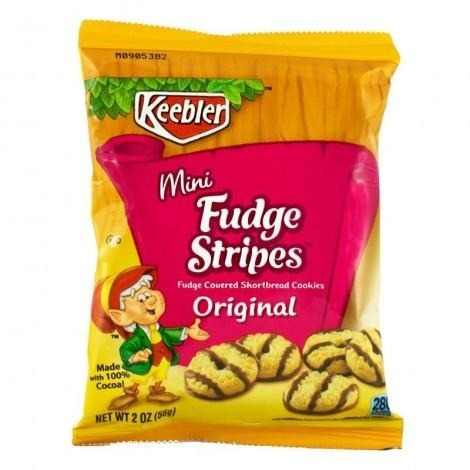 Keebler Mini Fudge Stripes Cookies (2oz)