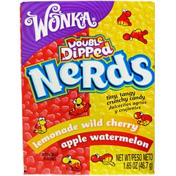 Wonka Double Dipped Nerds 1.65 OZ (46.7g) - A Taste of the States