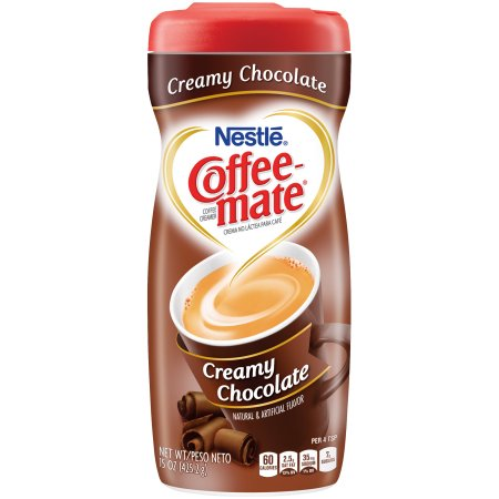 Nestle Coffee-Mate Creamy Chocolate (15oz tub) - A Taste of the States
